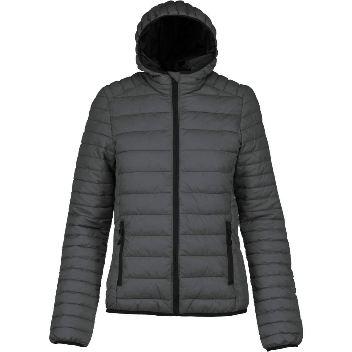 kariban női bélelt kabát Sötétkék