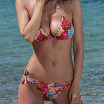 Bellissima Alicante rózsa mintás bikini - B kosár