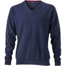 James & Nicholson JN 659 férfi V-nyakú pulóver