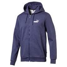 Puma Ess FZ Hoody FL bélelt cipzáros pulóver - sötétkék
