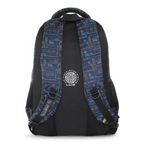 Budmil BDL feliratos hátizsák - sötétkék