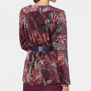 Triumph Robe Short Print női köntös