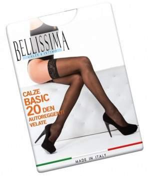 Bellissima B15 Calze Basic 20 combfix
