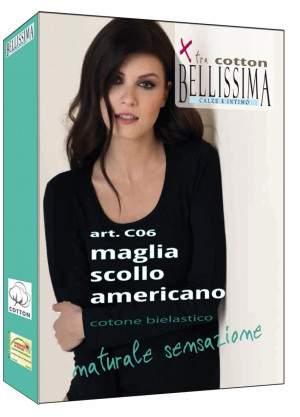 Bellissima C06 Americano pamut hosszú ujjú póló