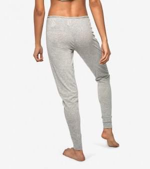 Calvin Klein gombos jogger - melange szürke