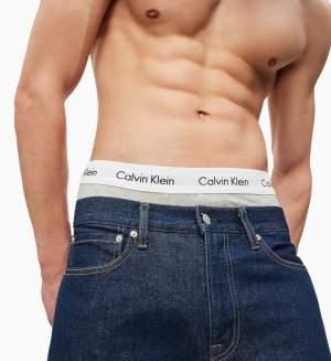 Calvin Klein 3P Trunk boxer fekete/fehér/szürke - 3 db