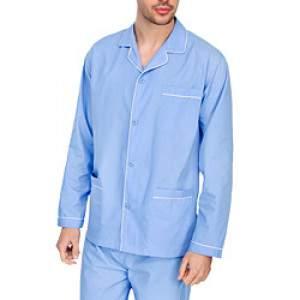 Diplomat WO501 férfi pizsama - kék