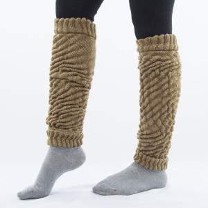 Dressa Aerobic női kötött lábszármelegítő - drapp