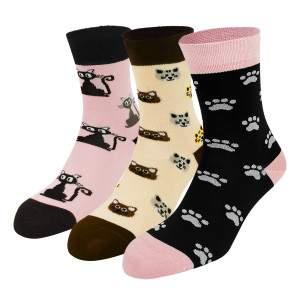 Dressa cicás zokni - 3 pár