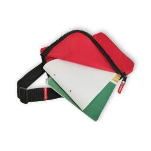Dressa Event tablet zsebes sportos válltáska - piros