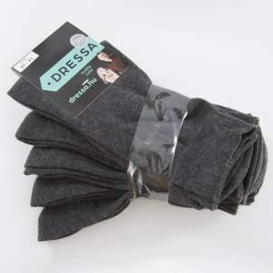 Dressa ezüstszálas gumi nélküli zokni - 5 pár