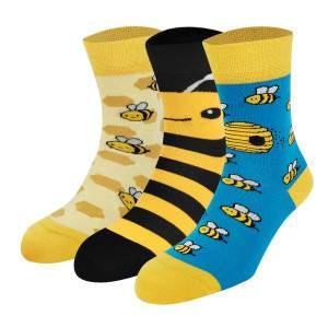 Dressa méhecskés női zokni - 3 pár