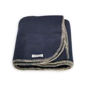 Dressa Home polár takaró 175x140 cm - sötétkék