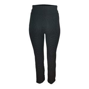 Dressa pöttyös mintás nagyméretű leggings - sötétkék