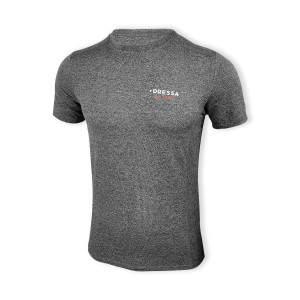 Dressa Recycled férfi sport póló - melírszürke