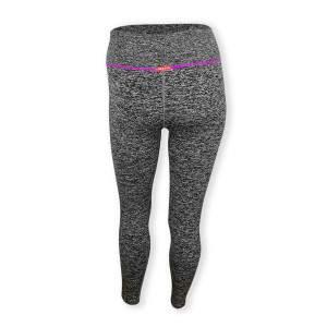 Dressa Recycled női fitness leggings - szürke-ciklámen