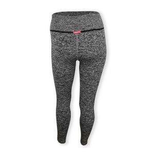 Dressa Recycled női fitness leggings - szürke-fekete