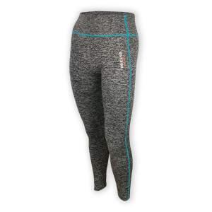 Dressa Recycled női fitness leggings - szürke-türkiz