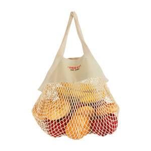 Dressa Shopping biopamut hálós bevásárló zsák - natúr