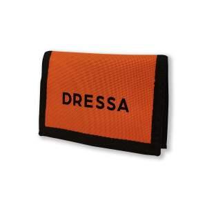 Dressa tépőzáras pénztárca - narancs