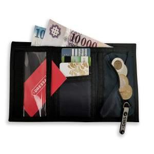 Dressa tépőzáras pénztárca - sötétkék
