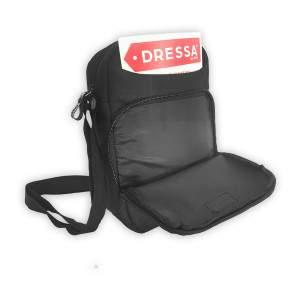 Dressa Travel tablet tartós mini válltáska - fekete