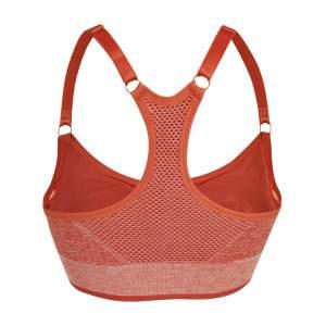 Dressa varrás nélküli kivehető szivacsos sportmelltartó - Red Heather