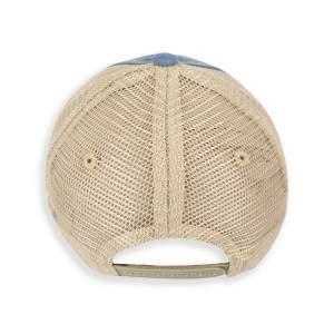 Dressa 3D hímzett hálós baseball sapka - farmerkék
