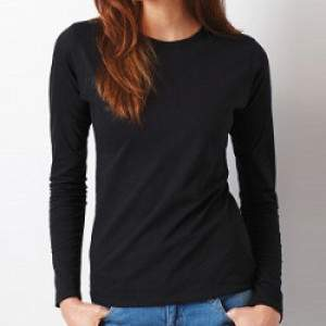 Gildan 64400L női hosszú ujjú póló