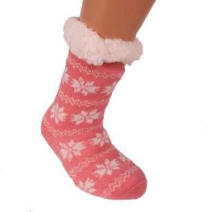 HDI hópelyhes gyerek mamusz zokni - rózsaszín