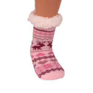 HDI rózsaszín gyerek mamusz zokni