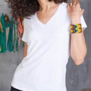 Kariban K327 Electra női V nyakú rövid ujjú póló