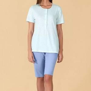 Linclalor 76829 női rövid ujjú pamut pizsama