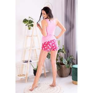 Livia Corsetti Embrasse 0404 kaktusz mintás női rövidnadrágos pizsama