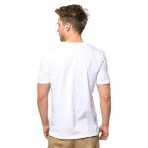 Heavy Tools Marda férfi rövid ujjú póló - fehér