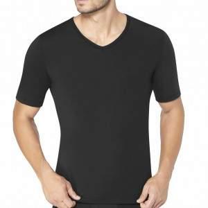 sloggi men Ever Fresh V-Neck V-nyakú férfi póló - fekete