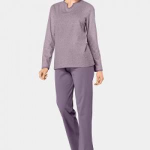 Triumph AW18 levélmintás pamut női pizsama