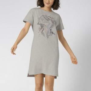 Triumph Nightdresses NDK 10 X pamut női hálóing - világosszürke
