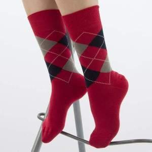 Dressa kárómintás női pamut zokni díszdobozban - 5 pár