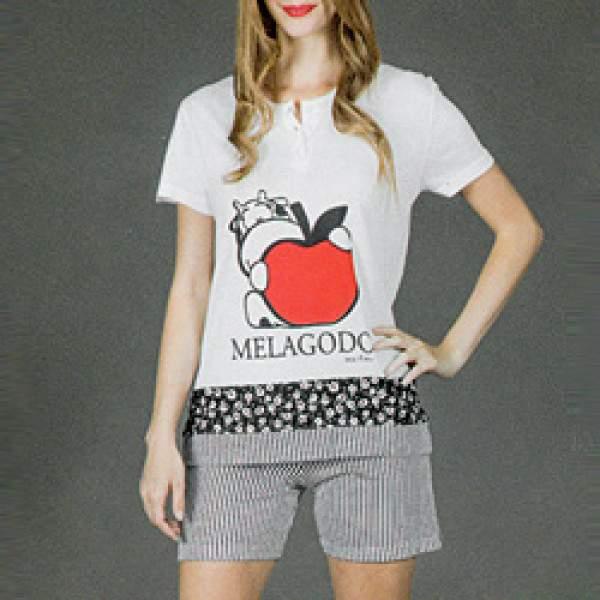 7fcb9f4c1f Crazy Farm 15370 női pamut pizsama - Dressa.hu