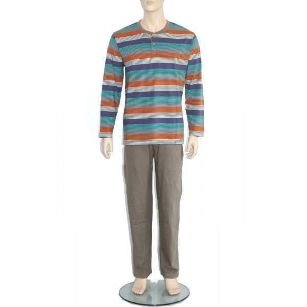 5b3f819f24 Oneway 2322 csíkos férfi pizsama - Dressa.hu