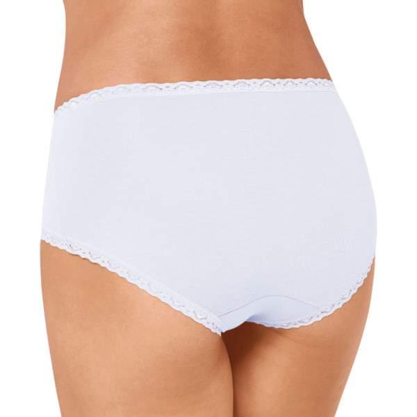 sloggi 24/7 Cotton Lace Midi pamut bugyi