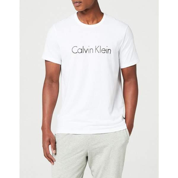 Calvin Klein Crew férfi rövidujjú póló - fehér