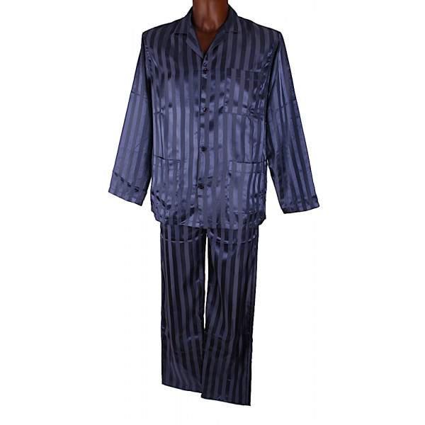 Antony Maurizio férfi szatén pizsama