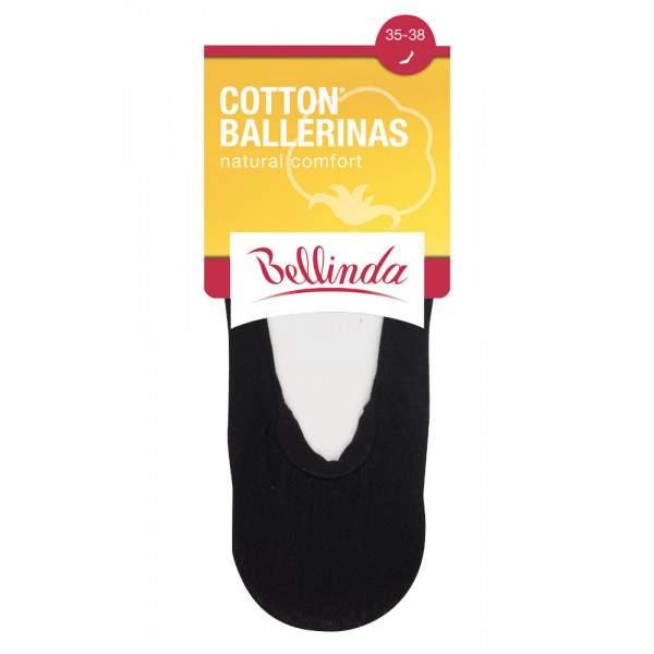 Bellinda Ballerinas női pamut titokzokni