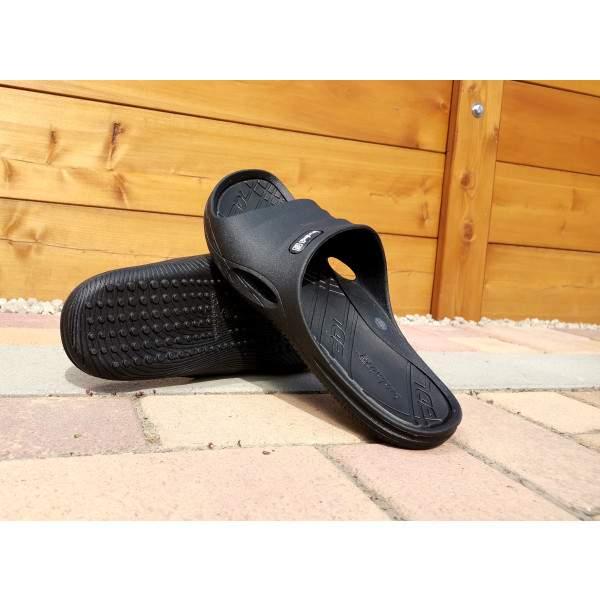 Budmil férfi strandpapucs - Fekete
