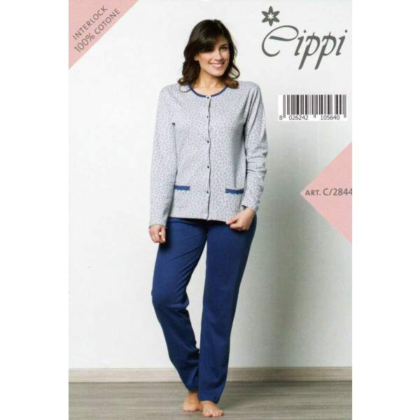Cippi 2844 női pamut pizsama