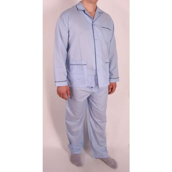 659b169e84 Diplomat WO501 férfi pizsama-azurro chiaro - Dressa.hu
