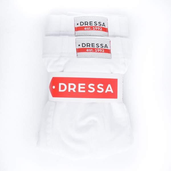 Dressa 142 hosszúszárú pamut boxeralsó - fehér - 2 db