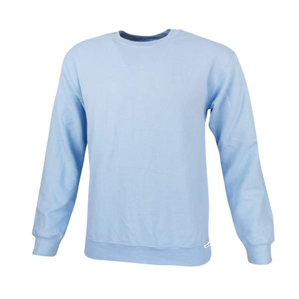 Dressa Basic környakú pamut pulóver - akciós